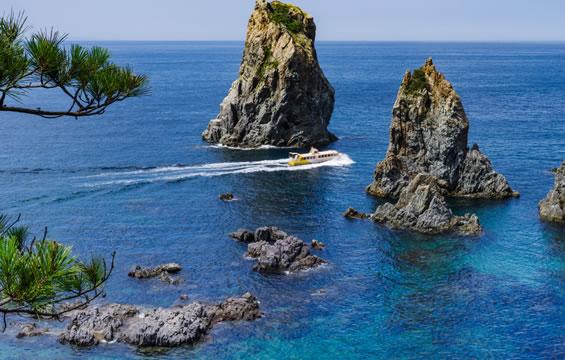 青海島・千畳敷